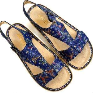 EUC Alegria leather sandals